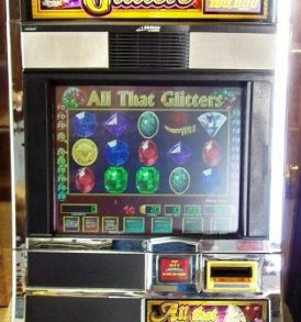 All That Glitters Williams Bluebird 1 Slot Machine by WMS for sale