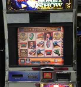 Big Money Show Williams Bluebird 1 Slot Machine by WMS for sale
