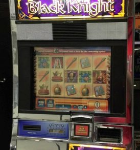 Black Knight Williams Bluebird 1 Slot Machine by WMS for sale