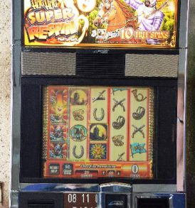 Cavalier Williams Bluebird 1 Slot Machine by WMS for sale