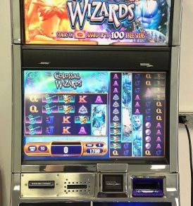 Colossal Wizards Williams Bluebird 2 Slot Machine by WMS for sale