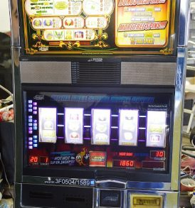 Double Easy Money Williams Bluebird 1 Slot Machine by WMS for sale
