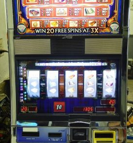 Double Life of Luxury Williams Bluebird 1 Slot Machine by WMS for sale