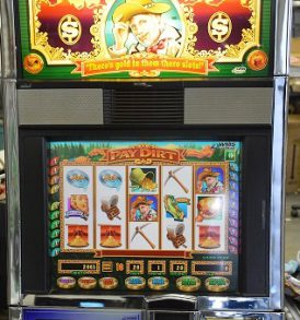 Pay Dirt Williams Bluebird 1 Slot Machine by WMS for sale