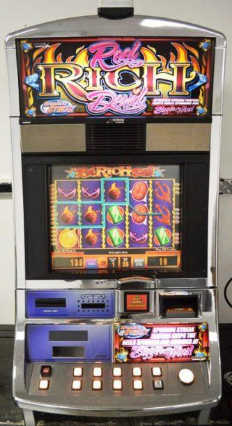 Reel Rich Devil Williams Bluebird 1 Slot Machine by WMS for sale