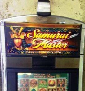 samurai master williams bluebird 1 slot machine sc