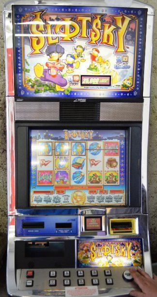 Slotsky Williams Bluebird Slot Machine by WMS for sale