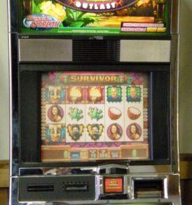 Survivor Williams Bluebird 1 Slot Machine by WMS for sale