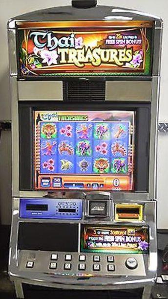Thai Treasures Williams Bluebird 1 Slot Machine by WMS for sale
