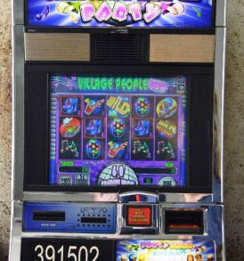 Village People Party Williams Bluebird 1 Slot Machine by WMS for sale