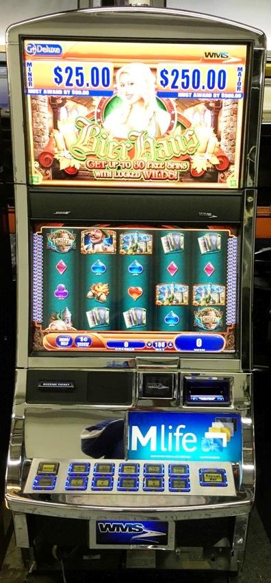 Bier Haus Williams Bluebird 2 Slot Machine by WMS for sale