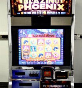 Blazing Phoenix Williams Bluebird 1 Slot Machine by WMS for sale