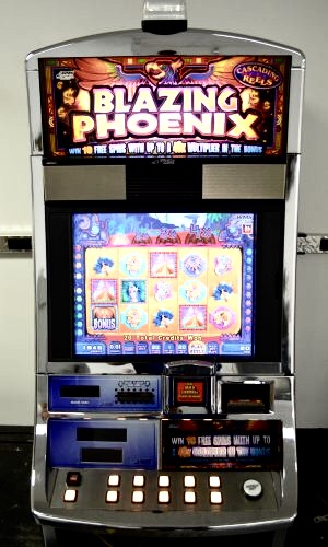 Blazing Phoenix Williams Bluebird 1 Slot Machine by WMS for sale