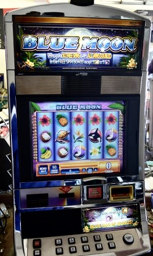 Blue Moon Williams Bluebird 1 Slot Machine by WMS for sale