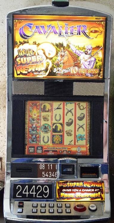 Cavalier Williams Bluebird 1 Slot Machine by WMS for sale