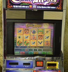 Count Money Williams Bluebird 1 Slot Machine