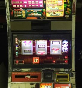 Diamonds in the Rough Williams Bluebird 1 Slot Machine by WMS for sale