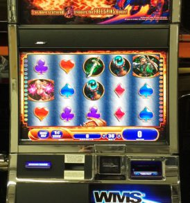 Dragons Fire Williams Bluebird 2 Slot Machine by WMS for sale