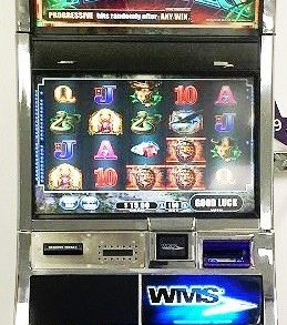 Exotic Treasures Williams Bluebird 2 Slot Machine by WMS for sale