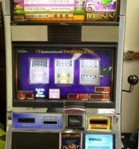 Extra Extra Luck Williams Bluebird 1 Slot Machine by WMS for sale