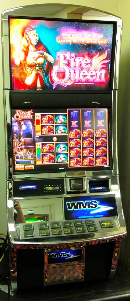 Fire Queen Williams Bluebird 2 Slot Machine by WMS for sale