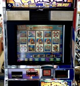 Free Spin Frenzy Williams Bluebird 1 Slot Machine by WMS for sale