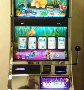 Gold Fish 2 Williams Bluebird 2 Slot Machine by WMS for sale