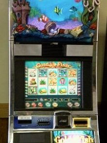 Gold Fish Williams Bluebird 1 Slot Machine by WMS for sale