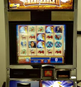Great Eagle 2 Williams Bluebird 1 Slot Machine by WMS for sale