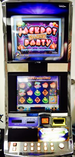 Jackpot Block Party Williams Bluebird 1 Slot Machine by WMS for sale