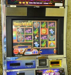 Jungle Wild 2 Williams Bluebird 1 Slot Machine by WMS for sale
