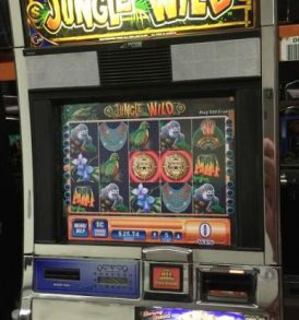 Jungle Wild Williams Bluebird 1 Slot Machine by WMS for sale
