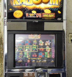 Kaboom Williams Bluebird 1 Slot Machine by WMS for sale