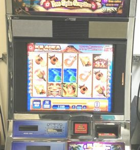 Kilauea Williams Bluebird 1 Slot Machine by WMS for sale