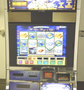 Life of Luxury Williams Bluebird 1 Slot Machine by WMS for sale