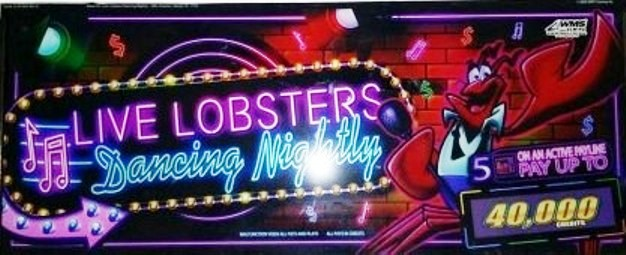 Live lobsters dancing nightly slot machine piece of crap cartoon