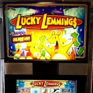 Lucky lemmings slot machine software casino themed invites