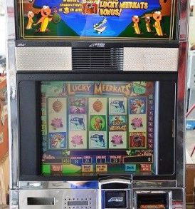 Lucky Meerkats Williams Bluebird 1 Slot Machine by WMS for sale