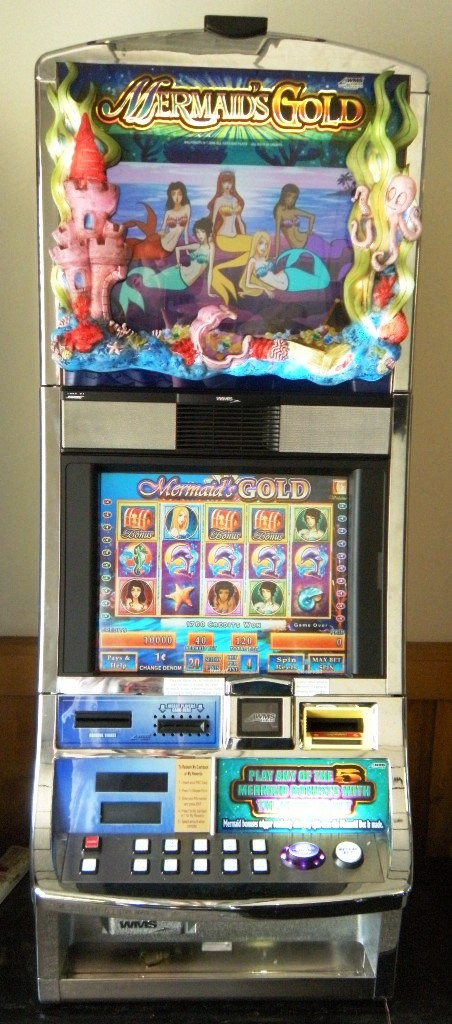 Mermaids Gold Williams Bluebird 1 Slot Machine by WMS for sale