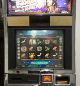 Mojo Rising Williams Bluebird 1 Slot Machine by WMS for sale