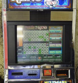 multi game keno williams bluebird 1 slot machine