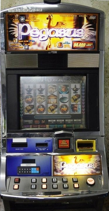 Pegasus Williams Bluebird 1 Slot Machine by WMS for sale