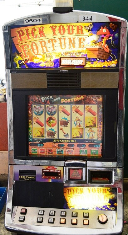 pick your fortune williams bluebird 1 slot machine