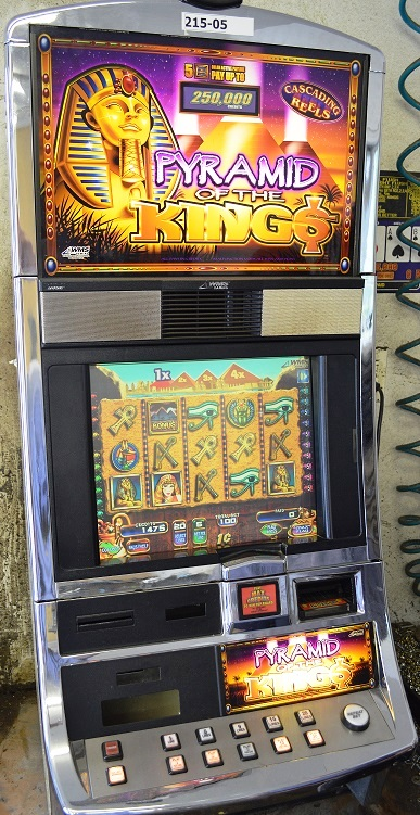 Pyramid of the Kings Williams Bluebird 1 Slot Machine by WMS for sale