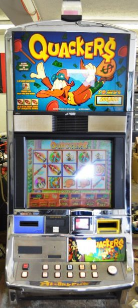 Quackers Williams Bluebird 1 Slot Machine by WMS for sale