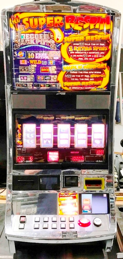 Record Jackpots Williams Bluebird 1 Slot Machine by WMS for sale