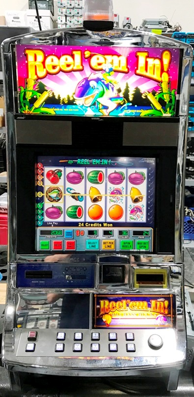 Reel Em In Williams Bluebird 1 Slot Machine by WMS for sale