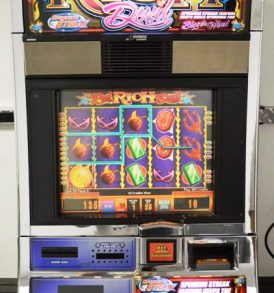 Reel Rich Devil Williams Bluebird 1 Slot Machine by WMS for sale