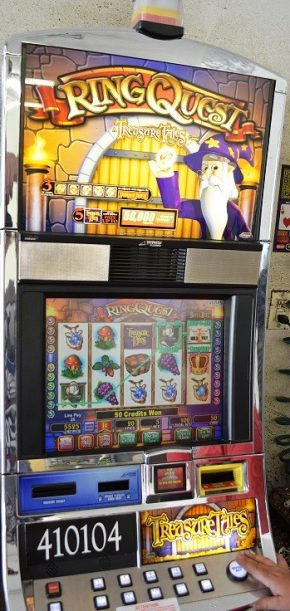 Ring Quest Williams Bluebird 1 Slot Machine by WMS for sale