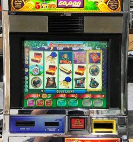 robin hoods sherwood treasure williams bluebird 1 slot machine